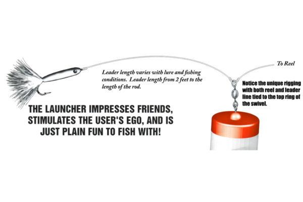 The Launcher Long Distance Casting Float