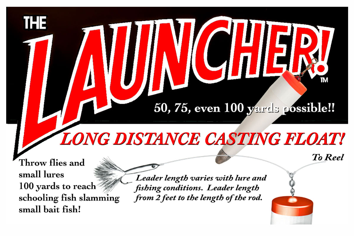The Launcher Long Distance Casting Float