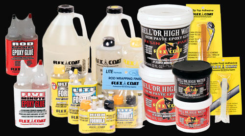 Buy Fishing Rod Finishes and Adhesives from Flex Coat